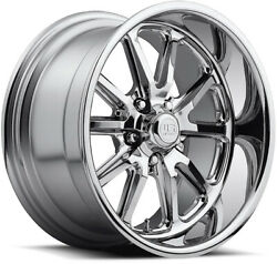 Alloy Wheels 17 Us Mags Rambler Chrome For Jeep Grand Cherokee [mk1] 93-98