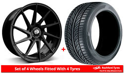 Alloy Wheels And Tyres 18 Cades Kratos For Seat [mk1] 95-10