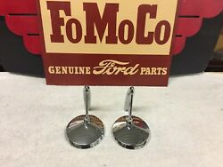 1950and039s 1960and039s Outside Mirrors Rotunda Ford Mercury Lincoln Chevy Dodge Pontiac
