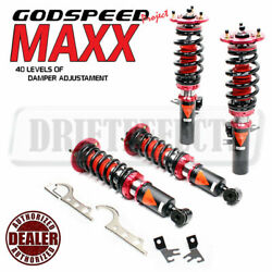 For Bmw 528i 530i Rwd 83-89 Gsp Maxx Damper Coilover Suspension Camber Plate Kit