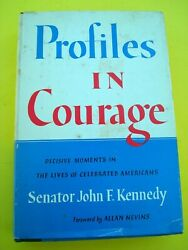 December 1955 Profiles In Courage By John F. Kennedy True 1st/1st M-e Code And Dj