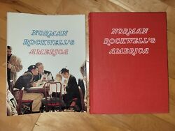 Rare Norman Rockwells America 1985 Edition Hardcover Book Signed Immen Vermont