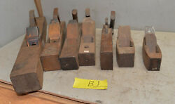 Antique Woodworkers Block Planes Wood Working Collectible Tool Lot Vintage B1