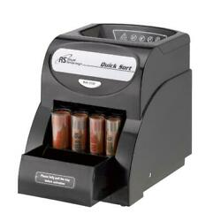 Coin Sorter Electric Counter Automatic One Row Wrapper Machine Cash Money Pos