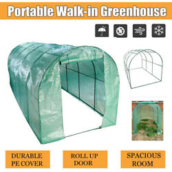 Greenhouse Portable Large Walk-in Plant House Shed Garden 16.4l X6.5w X6.5h Ft