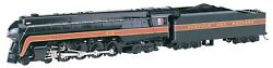 Bachmann 53202 Ho Scale Nandw Class J 4-8-4 Loco 613 With Dcc And Sound New In Box