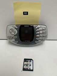 Nokia N-gage Phone + Fifa Game Unlocked Tested And Working Rare 🇦🇺 Seller Cs80