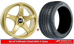 Alloy Wheels And Tyres 17 Bola B2r For Ford Scorpio [mk2] 94-98