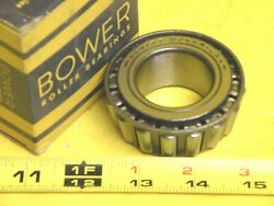 Bower 25877t Tapered Roller Bearing Cone 33mm Inside Diameter Made In Usa