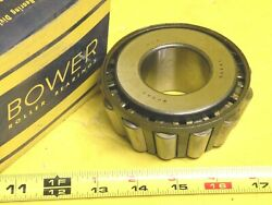 Bower 65384 Tapered Roller Bearing Cone 1 3/4 Inside Diameter Made In Usa
