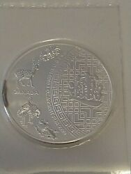 2016 1oz 5 Canada Pure .9999 Silver 5 Blessings Coin Sealed