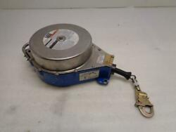 Used Dbi-sala Retrieval Winch, Stainless Steel Wire Rope 130' 3403600 H2