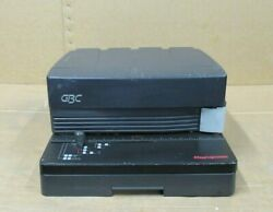 Gbc Magnapunch 21 Plastic Bind Electric Hole Punch Puncher Binding Machine