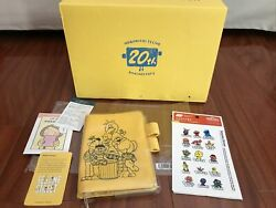 Hobonichi Techo A6 Sesame Street Cover Pencil Board Clear Yellow Box USA Seller $60.00