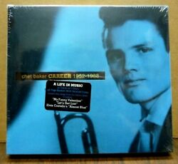Chet Baker Career 1952-1988 Cd Box Set And Booklet Brand New And Sealed