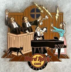 Hard Rock Cafe BOSTON 2019 Salem Witch Trials Courtroom PIN HRC #518084