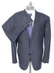 Nwt Brioni Colosseo Charcoal Super 160's Wool 2 Btn Slim Fit Suit 50 R Eu 60