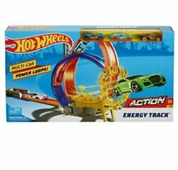 Hot Wheels Energy Track Playset W/ 3 Cars Included