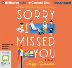 Sorry I Missed You By Suzy Krause English Compact Disc Book Free Shipping