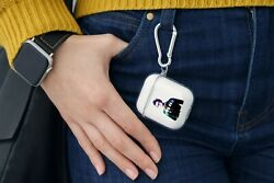 Doctor Who Tardis Sci-fi Case For Airpods 1/2/pro Keychain Tpu Keyring