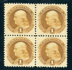 133 Block Of 4 Mint-vf-og-lh Free Next Day Del. On Orders Over 500 2/5/21 Gp