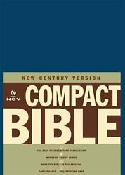 The Holy Bible New Century Version, Blue Bonded Leather By Thomas Nelson