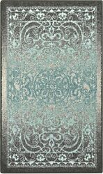 Maples Rugs Pelham Vintage Kitchen Rugs Non Skid Accent Area Carpet [made In Usa