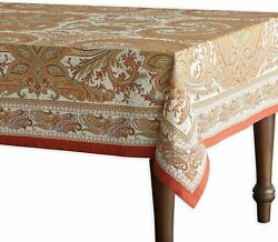 Maison Dand039 Hermine Kashmir Paisley 100 Cotton Tablecloth For Kitchen Dinning Tab