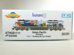 Athearn Genesis 01111 Union Pacific Railroad Power Of People Sd70ace Dcc And Sound