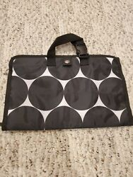 Thirty One hanging Travel Jewelry Case keeper organizer makeup cosmetic big dot $25.50