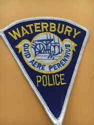 Waterbury Connecticut Police Department Patch