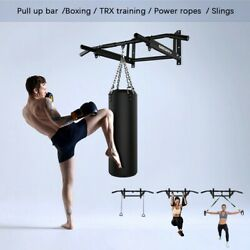 Wall Mounted Pull Up Bar - Made In Uk Vkr Station Home Gym Weights Chin Chinning