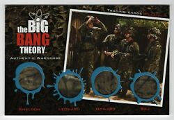 Big Bang Theory 5 - Oversized Multi Wardrobe Card Om22 From Redemption 25 Exist