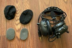 Softcomm Products Inc Helicopter Headphones And Carrying Case