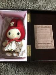 My Melody Limited To 300 Plush Dolls 2000 Sanrio Serial Number Engraved 395/kn