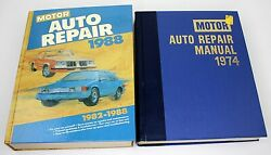 2 Motor Manuals - Auto Repair Manuals 37th And 51st Editions Very Nice Condition