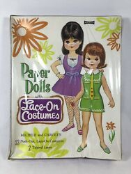 Vintage Saalfield Paper Dolls With Lace-on Costumes • New • Still Sealed