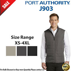 Port Authority Mens Sleeveless Front Zipper Collective Insulated Vest J903