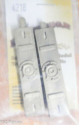 Precision Scale O 4218 Bolsters, Body, Flat Car, 148th Scale Brass Castings