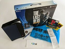 Sony Playstation 4 Ps4 Last Of Us Limited Ed. 500gb Console Bundle With Bonuses