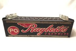 Vtg Raybestos Pg Products Service Auto Parts Catalog Holder Sign Counter Display