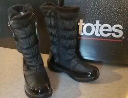 Totes boots women#x27;s size 7 winter waterproof fur $34.99