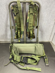 Military Field Alice Back Pack Frame Kidney Pad Strap Lc-1 Lc-2 Ruck Sack