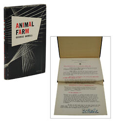 Animal Farm George Orwell Review Copy First Us Edition 1st 1946