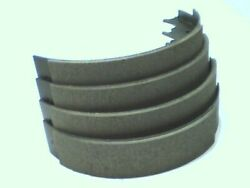 Four Brake Shoes For Edsel 1958-1959 Rear, No Core-you Car Will Need Brakes