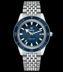 Authentic Rado Captain Cook Automatic Stainless Steel Men's Watch R32505203