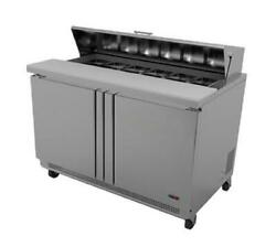 Fagor Refrigeration 48 Sandwich/salad Prep Table With Removable Cutting Board