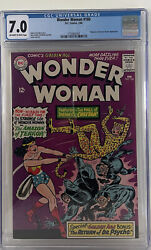 Wonder Woman 160 1966 Cgc 7.0 Key 1st Cheetah Appearance In Silver Age Hot
