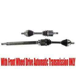 Front Axles For Volvo 08-13 C30 Front Wheel Drive Automatic Transmission Only