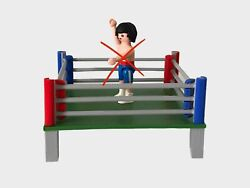 City City Sport Boxing Ring 3d Miniature Custom - Playmobil Figure Not Included